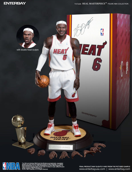 (RM-1041) Real Masterpiece: NBA Collection – LeBron James 1/6 scale collectible figurine