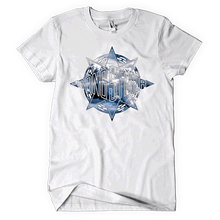 Load image into Gallery viewer, Gang Starr Above The Clouds Logo Tee