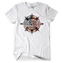 Load image into Gallery viewer, Gang Starr American Flag Logo Tee