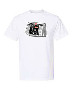 Gang Starr Daily Operation Newspaper Tee