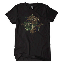 Load image into Gallery viewer, Gang Starr Abstract Camo Logo Tee