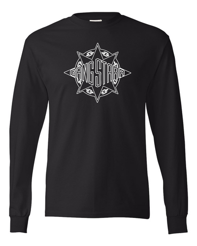 Gang Starr Logo Long Sleeve T-Shirt