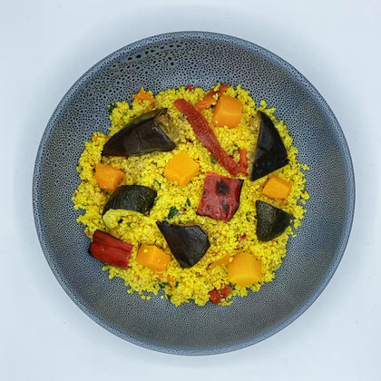 Vegetable Antipasto & Couscous