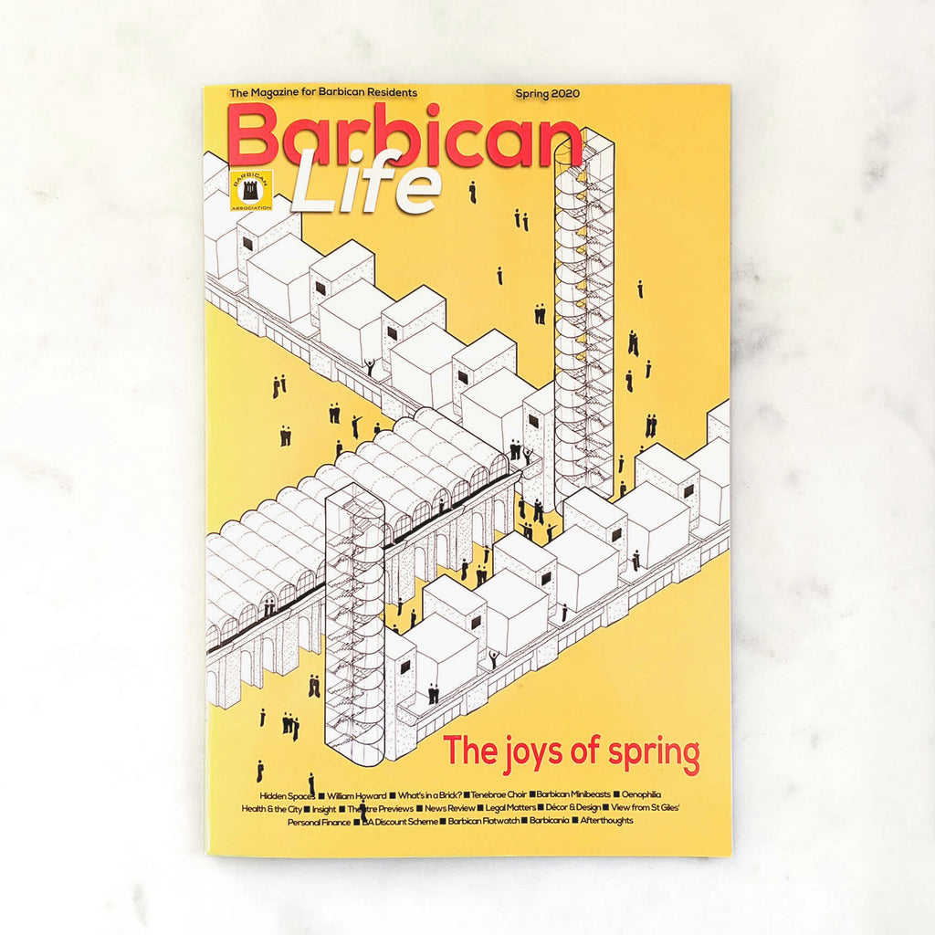 Studio Powe_Architecture_Blog_Barbican Life_Publication_Front Cover