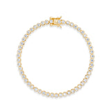 FELICITY BRACELET GOLD - thekingcreative event and bridal jewellery
