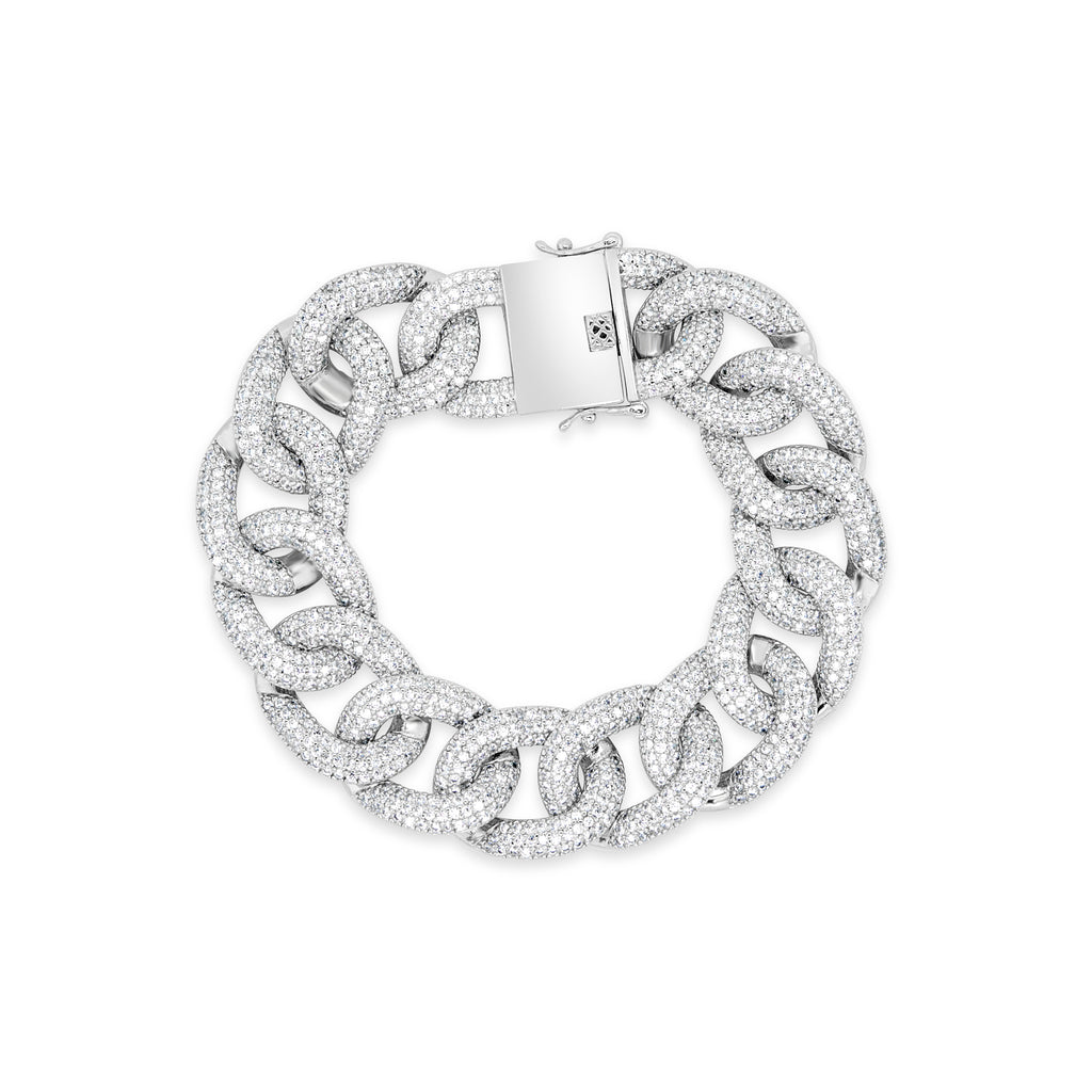 MILEY BRACELET WHITE - thekingcreative event and bridal jewellery