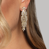 APHRODITE EARRINGS GOLD - thekingcreative event and bridal jewellery