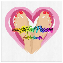 Load image into Gallery viewer, FEET ARE BEAUTIFUL! Wall Art.