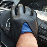 highshine unlined goat leather touch screen winter gloves