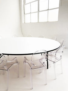 10 Ghost Chairs & 1 Round Table - The Setup