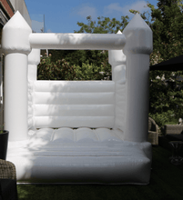 Load image into Gallery viewer, All White Jumping Castle 3m x 3m - The Setup