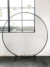 Load image into Gallery viewer, Circular Mesh Wall Black - The Setup