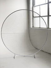Load image into Gallery viewer, Circular Mesh Wall White - The Setup