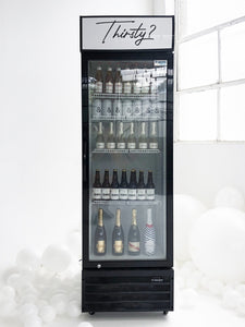 Display Drinks Fridge - The Setup