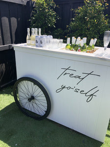 Mobile Bar Cart - The Setup