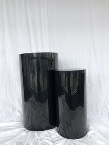 Stand Up Black Plinth - Set of 2 - The Setup