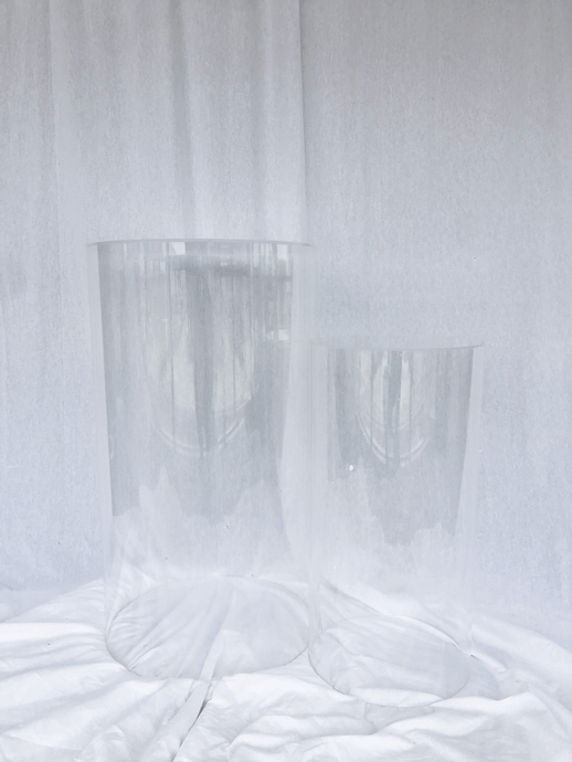 Stand Up Clear Plinth - Set of 2 - The Setup