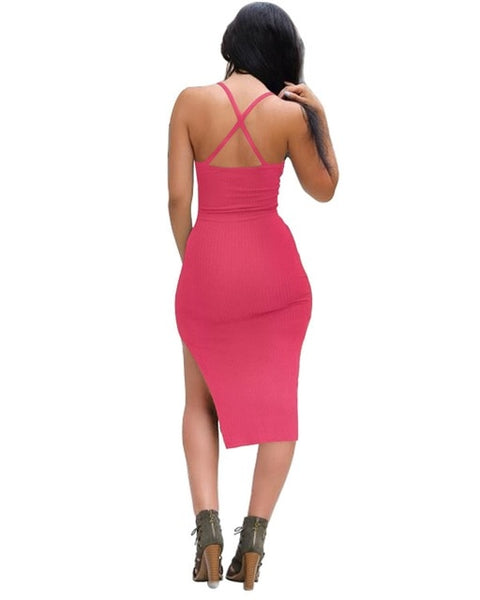 Niley Strappy Midi Dress