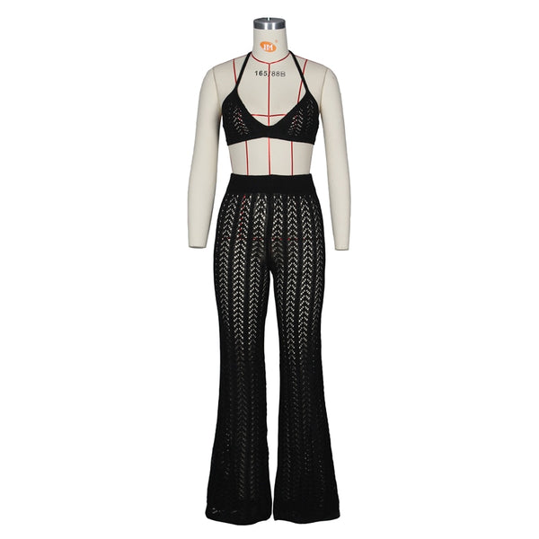 Yasmina Woven Bralette and Pants