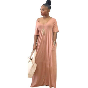 Hadia Side Pocket Maxi