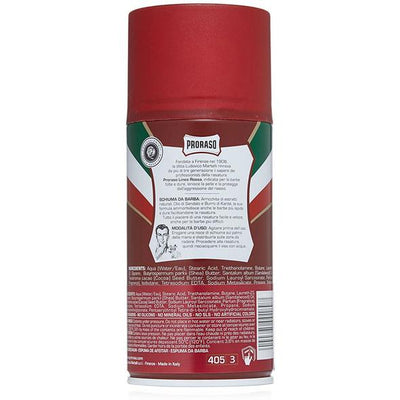 Proraso Sandalwood & Shea Butter Nourish Shaving Foam
