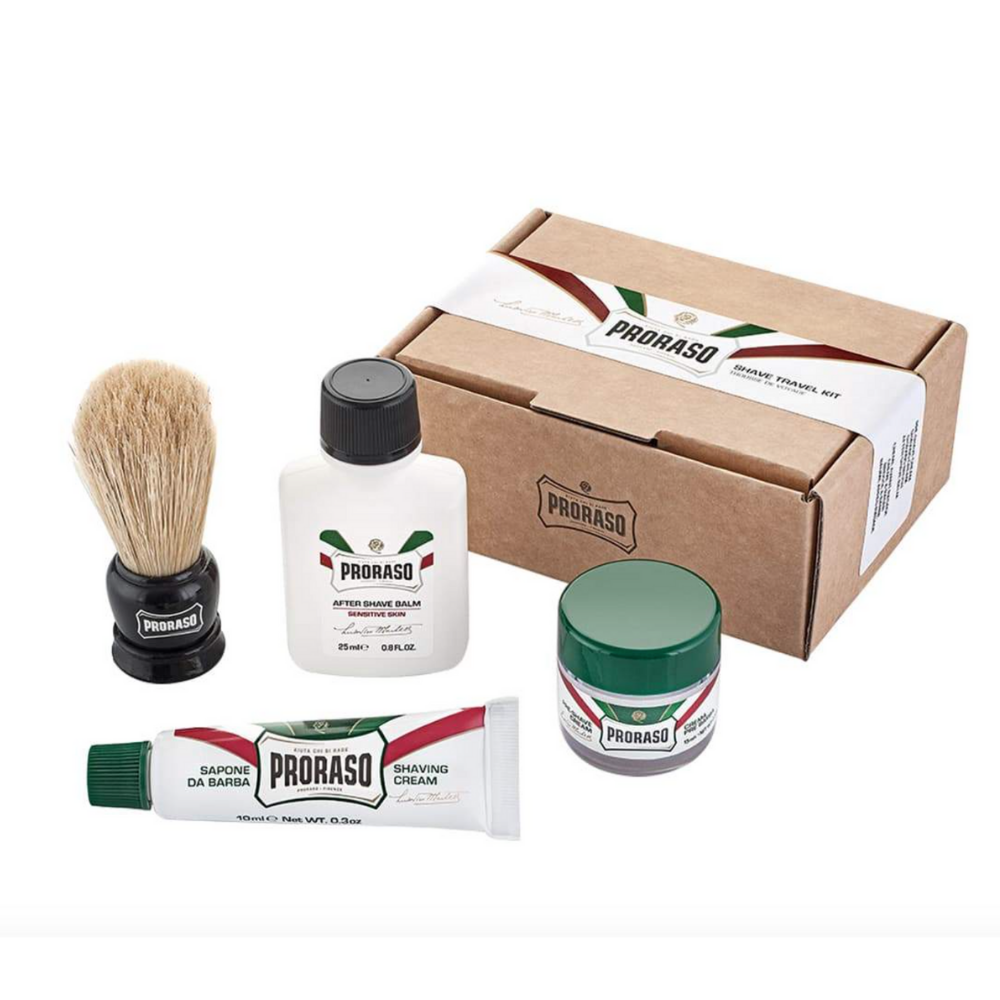PRORASO TRAVEL SHAVING KIT MINI