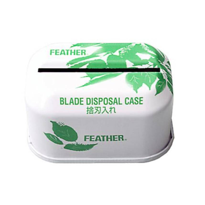 FEATHER DOUBLE EDGE BLADE DISPOSAL CASE
