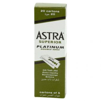 Astra Super Platinum Double Edge Razor Blades
