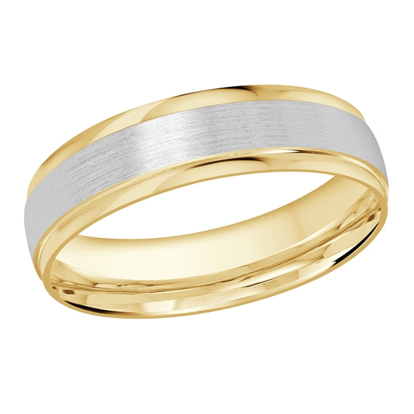 Karat Gold or Platinum Carved Wedding Band