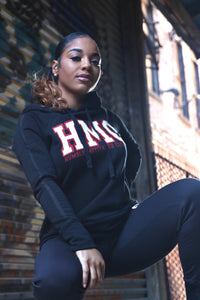 Women's Humbly motivated sweatsuit-black