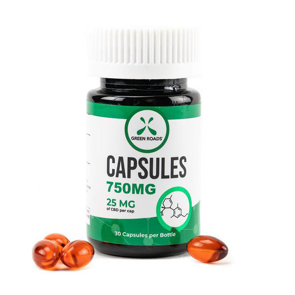 Green Roads capsules 750mg