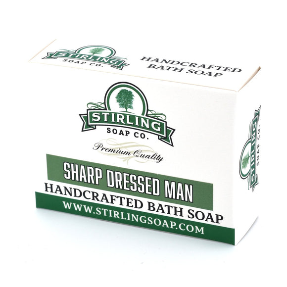 Stirling Body Soap Sharp Dressed Man