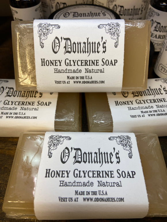O'Donahue's Honey Glycerine Soap