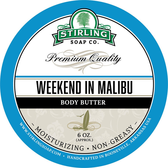 Stirling Weekend In Malibu Body Butter