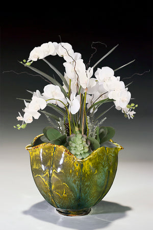 "Orchid Bowl  6.75"" X 7"""