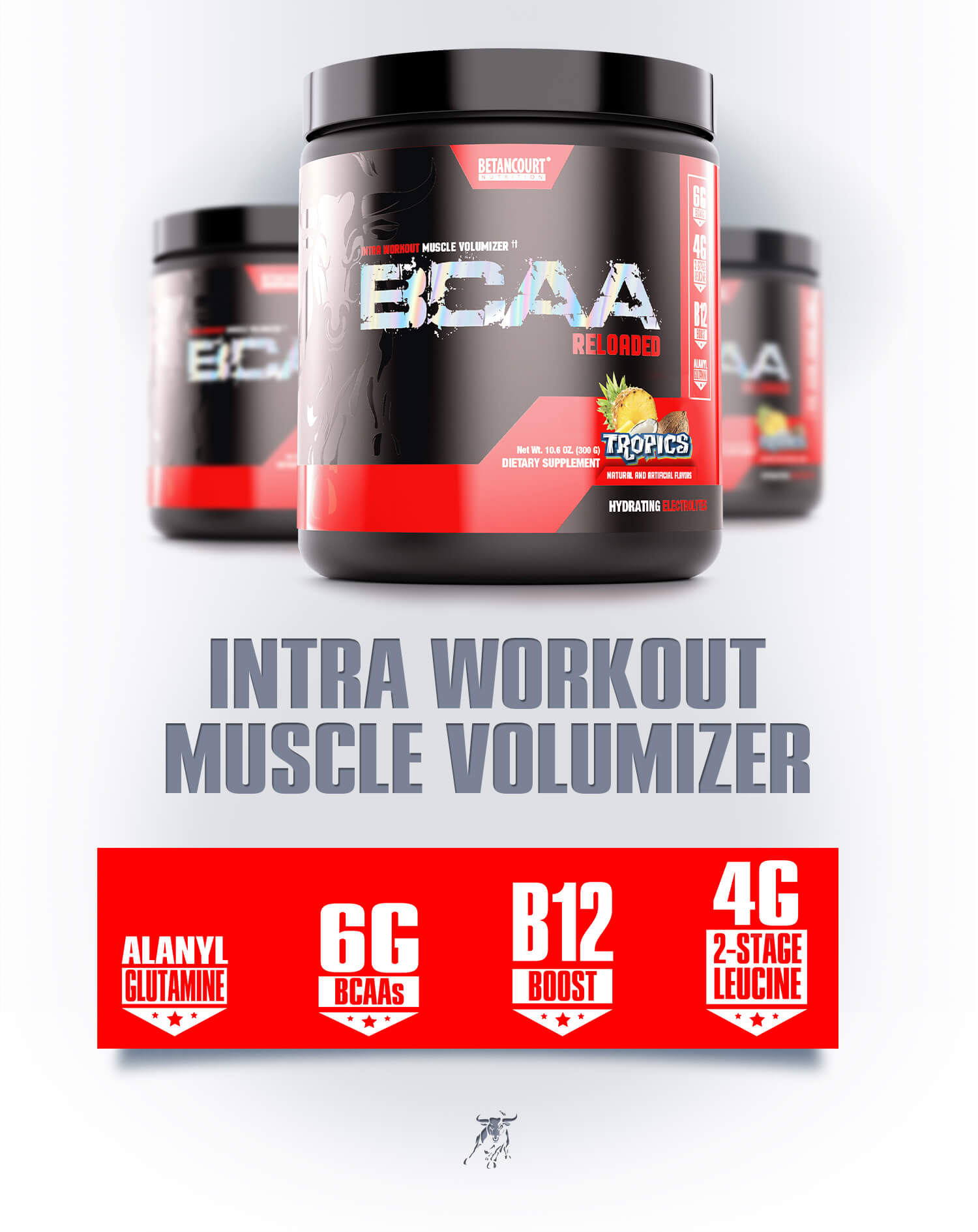 BCAA - Betancourt Nutrition - Intra Workout Muscle Volumizer