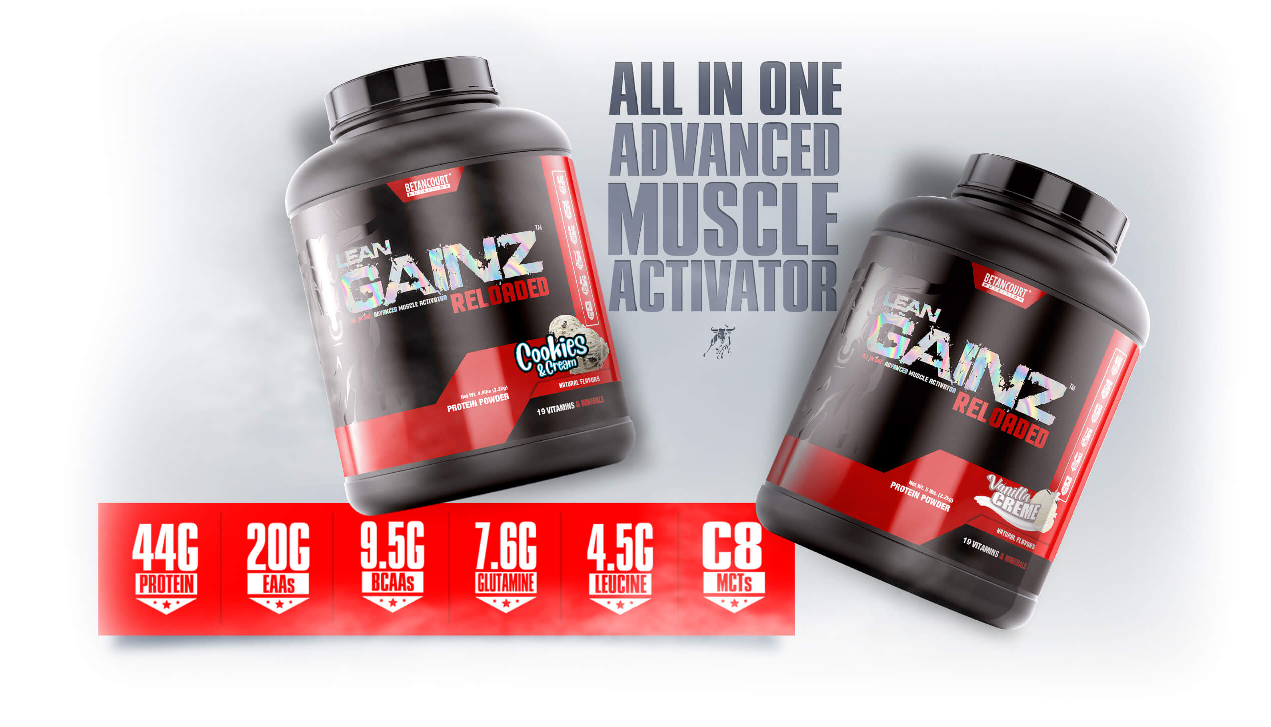 LEAN GAINZ ALL IN ONE ADVANCED MUSCLE ACTIVATOR