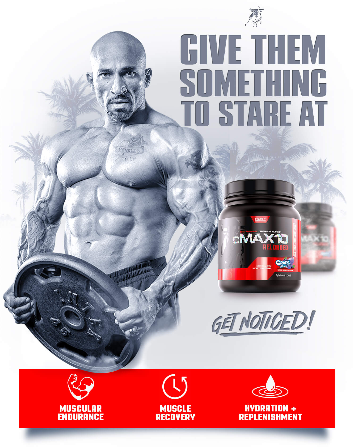 CMAX 10 - betancourt nutirtion - Intra/Post Workout Creatine Cell Volumizer