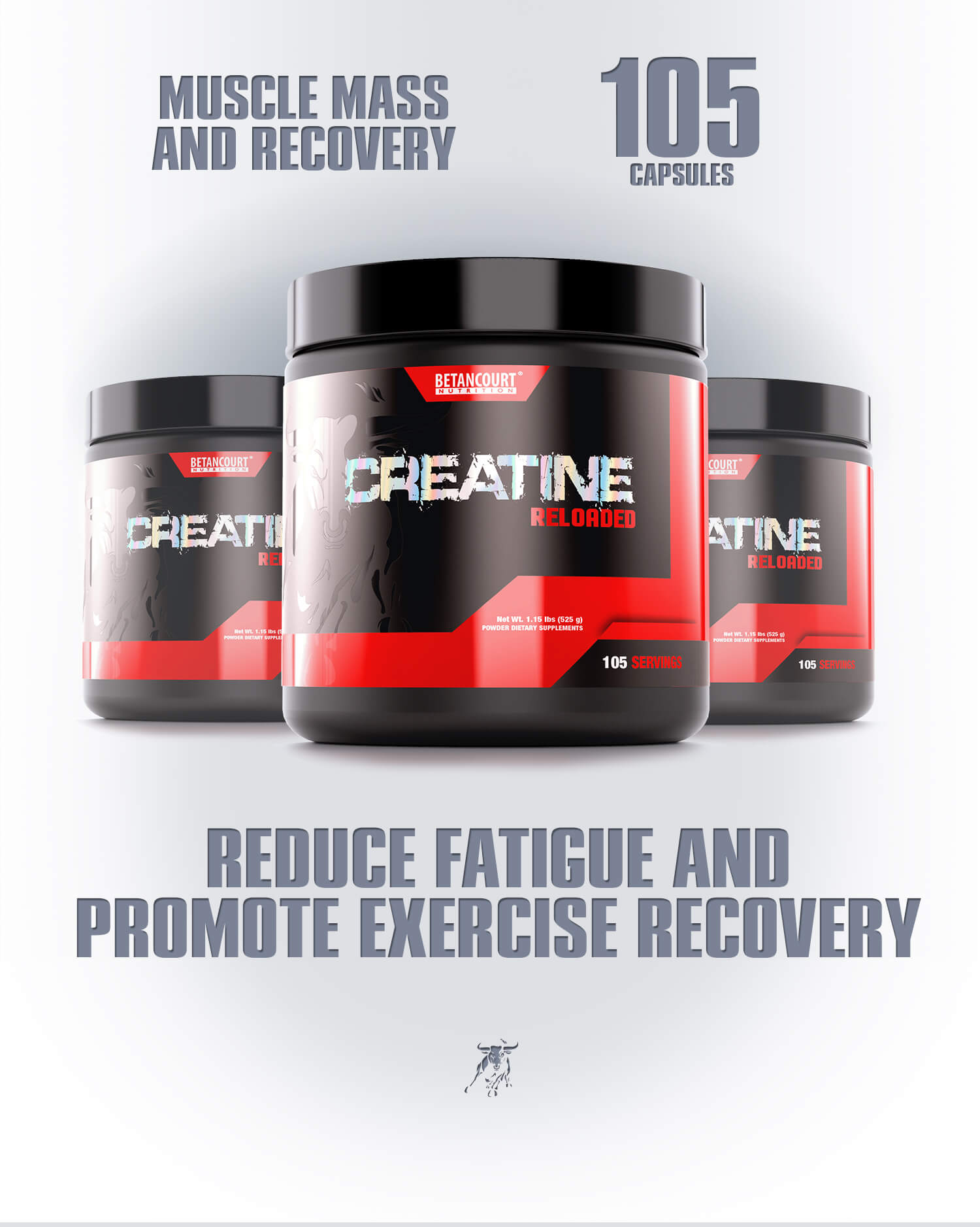 Creatine - Betancourt Nutrition - Recovery