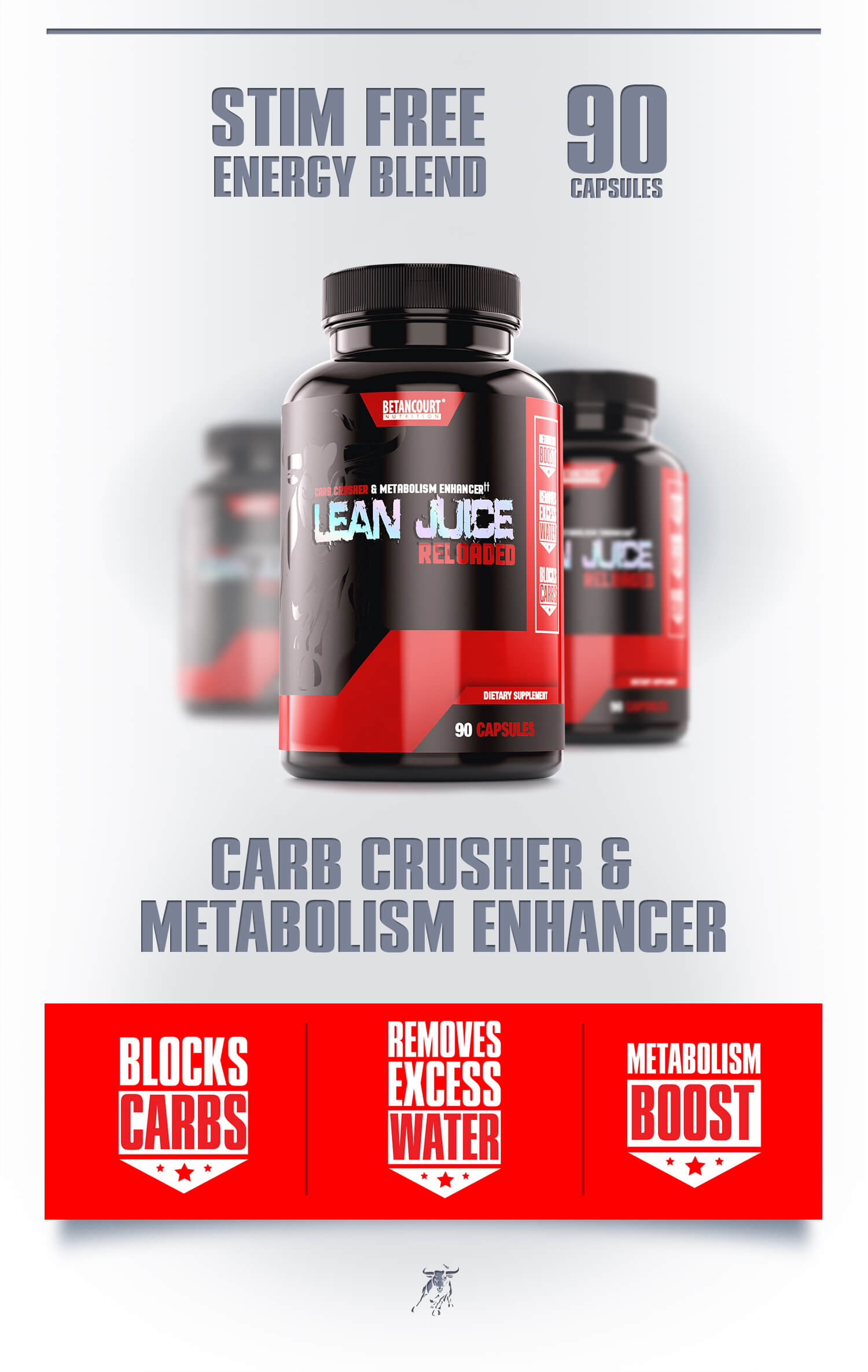 Lean Juice - Betancourt Nutrition - CARB CRUSHER & METABOLISM ENHANCER