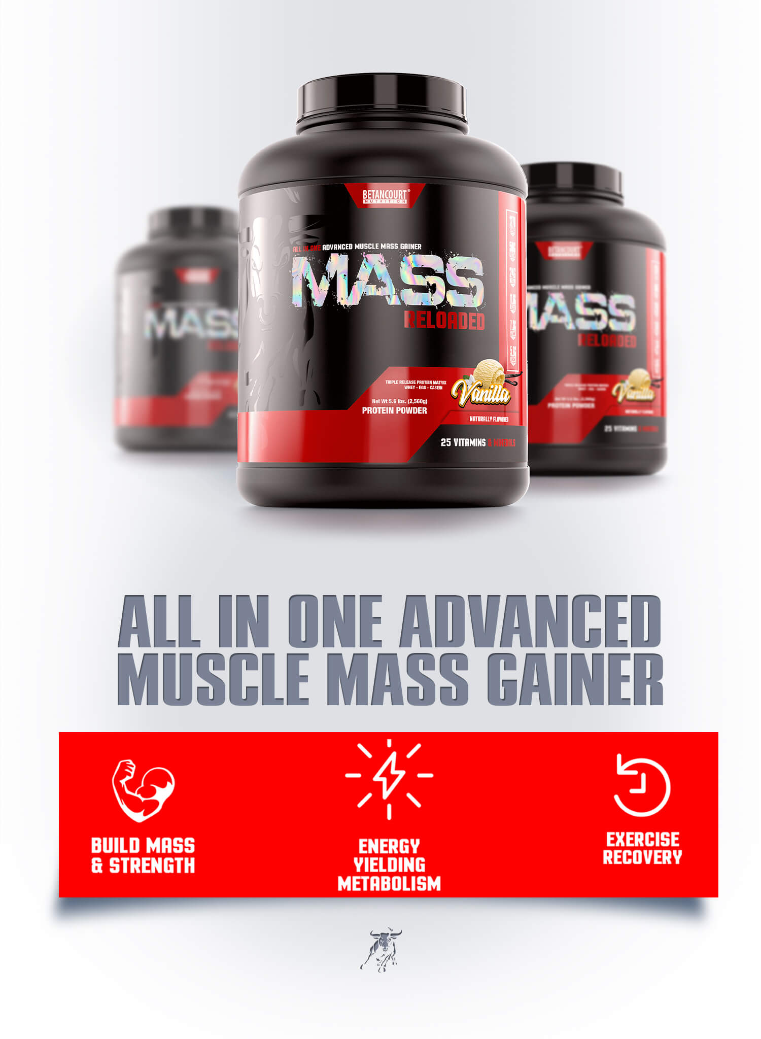 Mass Reloaded - Betancourt Nutrition Quality Advanced Muscle Mass Gainer