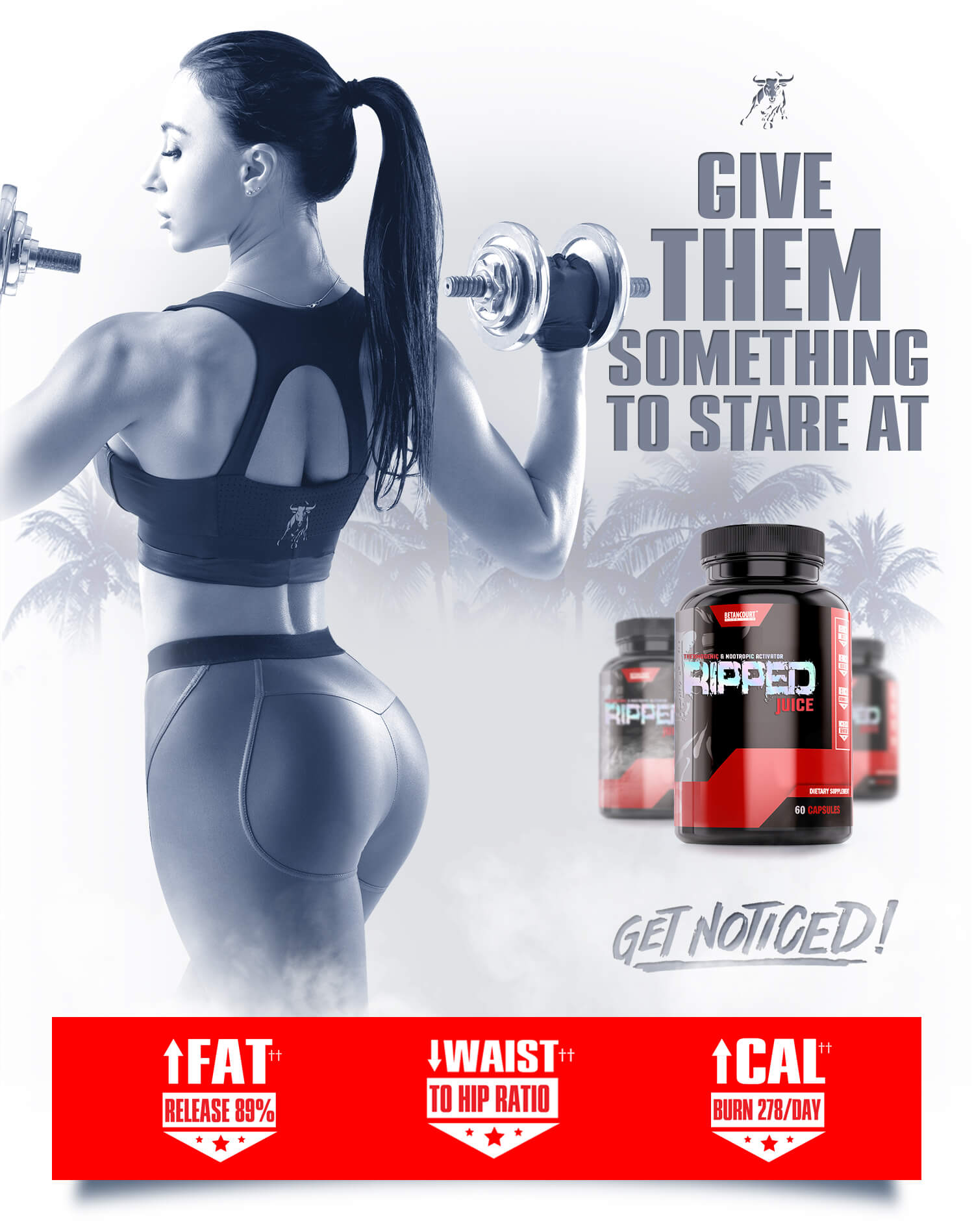 Ripped Juice Caps - Betancourt Nutrition - Weight Management