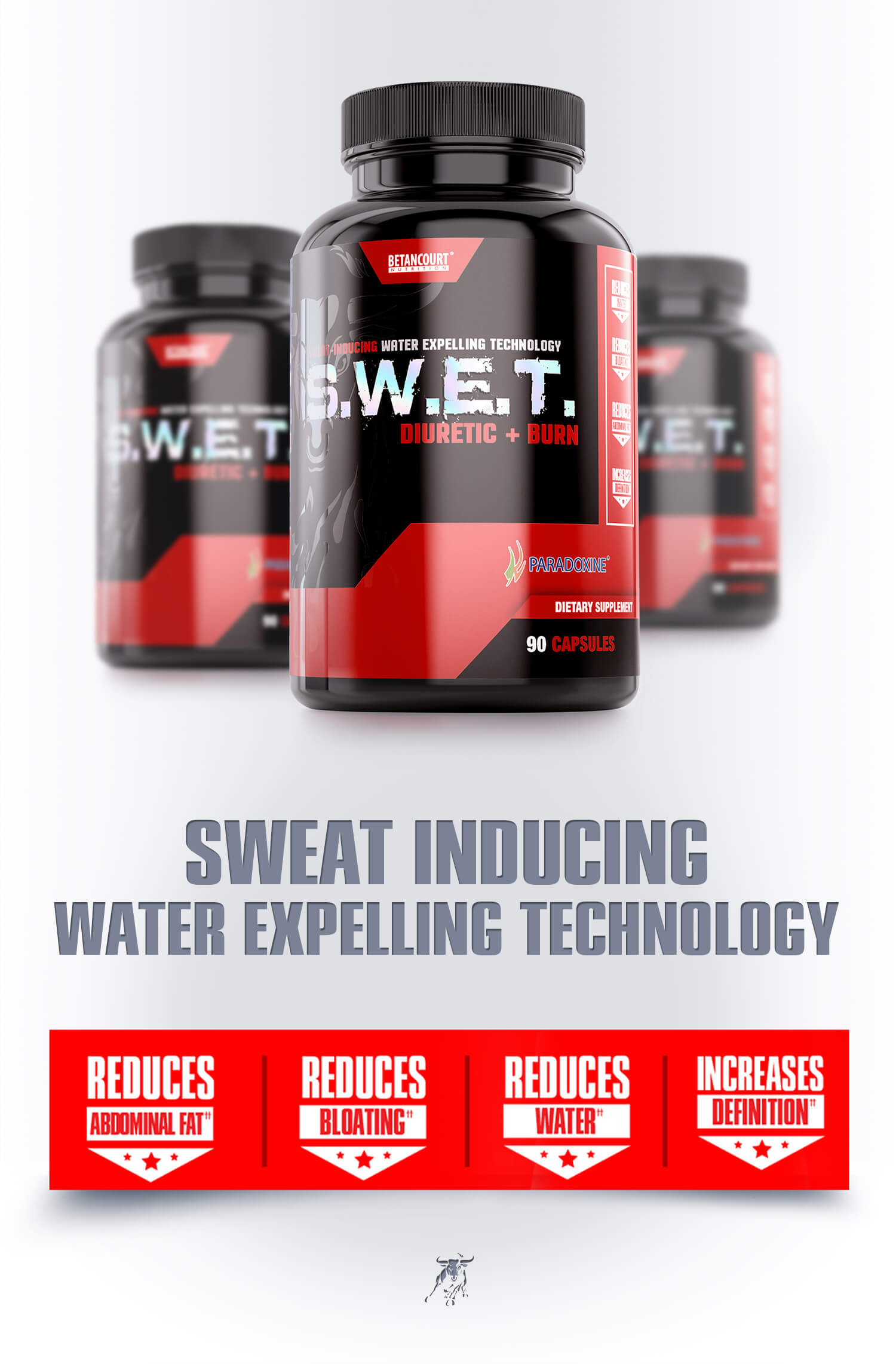 SWET - Betancourt Nutrition - Diuretic and Burn