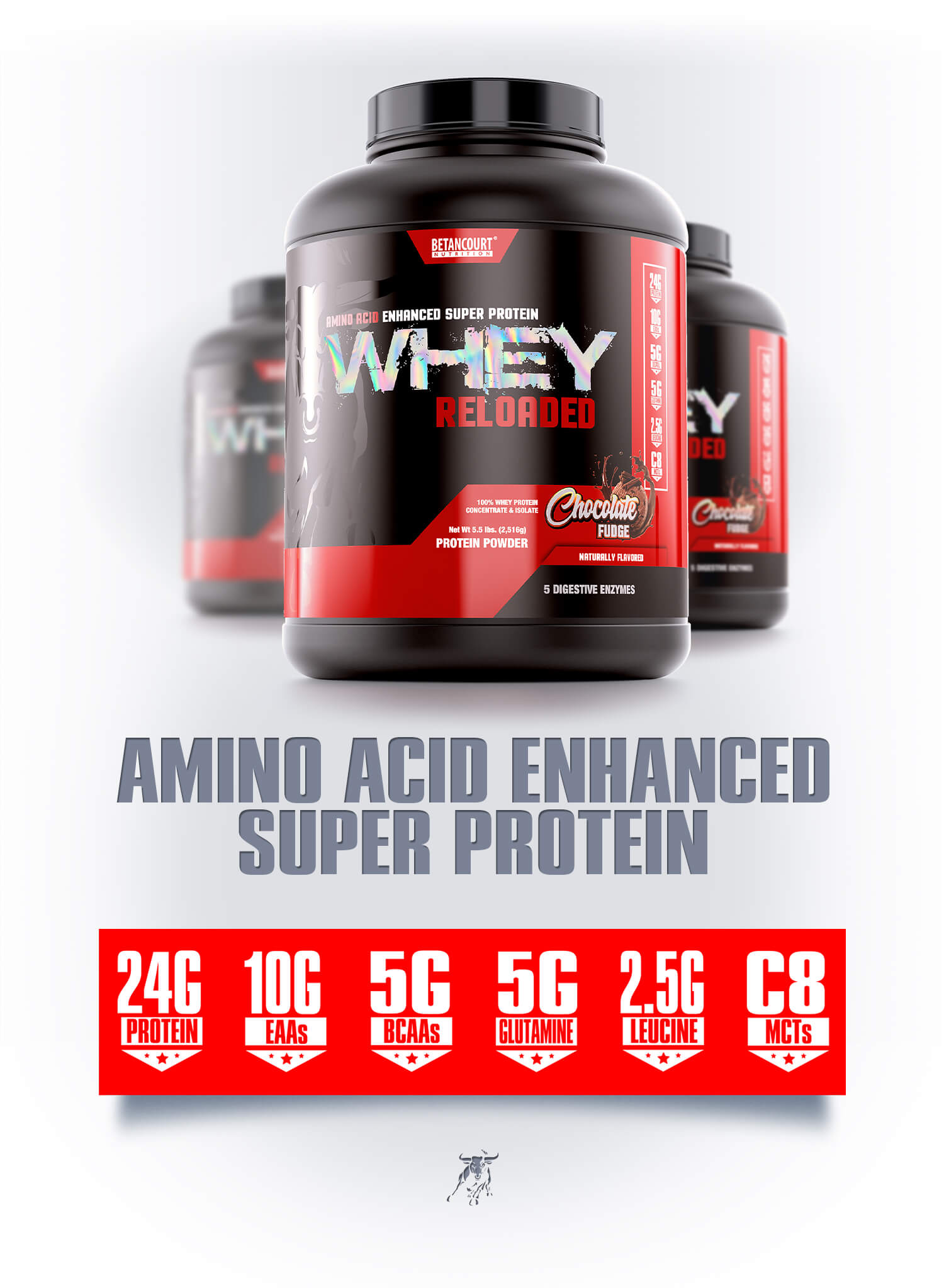 Whey Reloaded - Betancourt Nutrition - Amino Acid Enhanced Super Protein