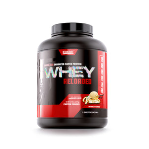 WHEY RELOADED <br>AMINO ACID ENHANCED SUPER PROTEIN
