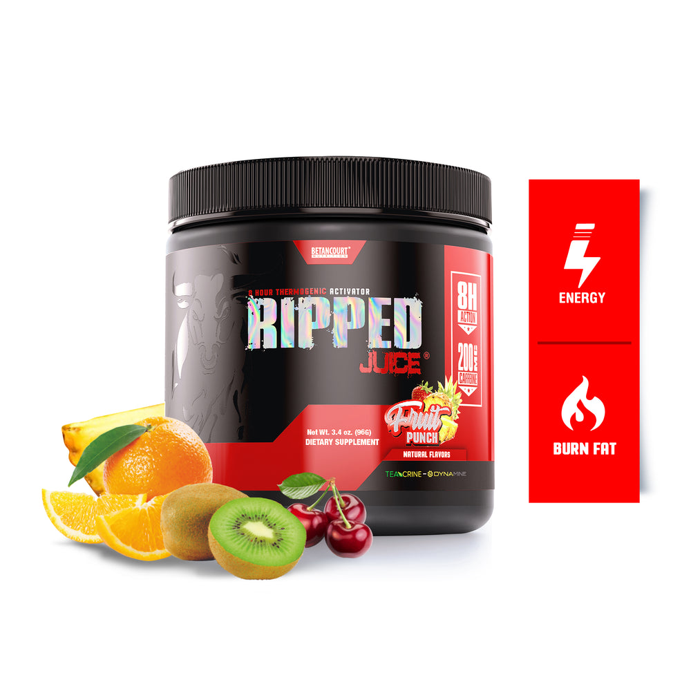 RIPPED JUICE POWDER <br> 8-HOUR THERMOGENIC ACTIVATOR