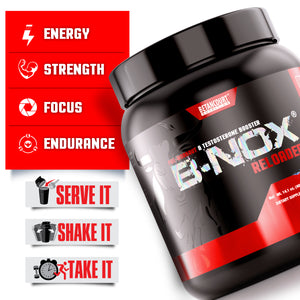 Load image into Gallery viewer, B-NOX RELOADED <br> PRE-WORKOUT & TESTOSTERONE BOOSTER