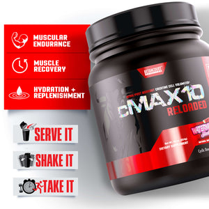 CMAX-10 RELOADED <br> INTRA/POST-WORKOUT + CREATINE CELL VOLUMIZER