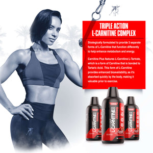 Load image into Gallery viewer, L- CARNITINE PLUS <br> TRIPLE ACTION FAT METABOLIZER