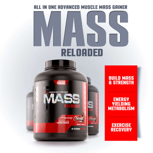 MASS RELOADED <br> ALL-IN-ONE ADVANCED  GAINER